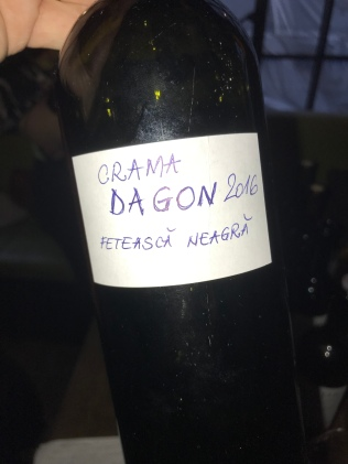 bottle of crama dagon 2016